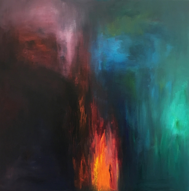 MD Tokon, 'No. 10 Fire & Rain ', 2019, Painting, Acrylic on canvas, THE WHITE ROOM GALLERY