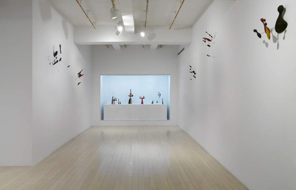 Installation view, Calder: Constellations, Pace Gallery, New York, 20 April – 30 June 2017. © 2017 Calder Foundation, New York / Artists Rights Society (ARS), New York