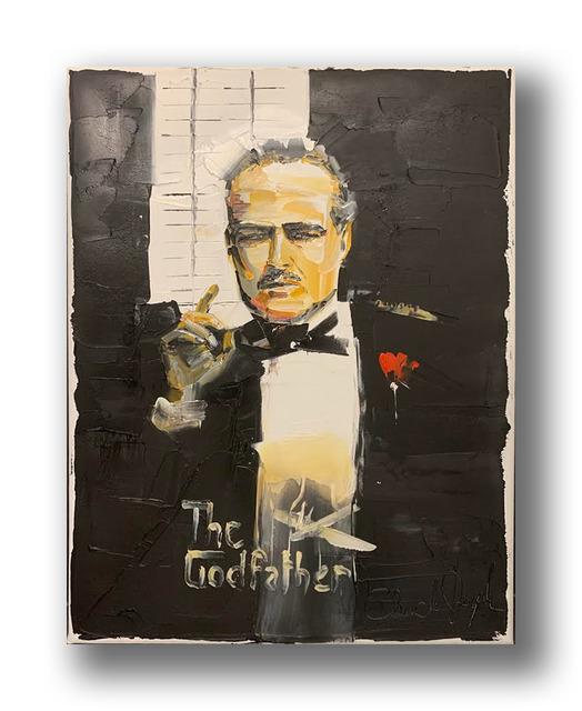 Chuck Joseph, 'Godfather', 2020, Painting, Oil on Canvas, Animazing Gallery