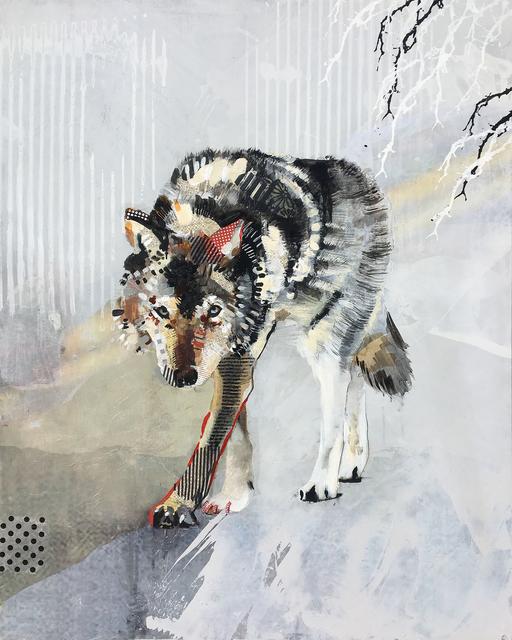 , 'Wolf Stalking,' 2018, Newzones