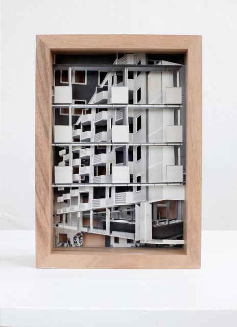 , 'Miethäuser und Wohnanlagen,' 2016, Raum mit Licht