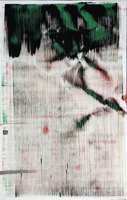 Sergio Barrera, 'Antigesture (rhizomes). P29', 2019, Painting, Acrylic on Canson paper, SET ESPAI D'ART