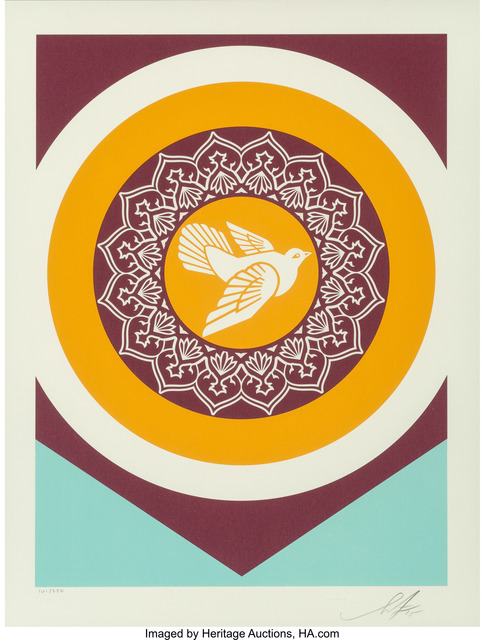 Shepard Fairey (OBEY), 'Obey Peace Series 2 (Doves)', 2015, Heritage Auctions