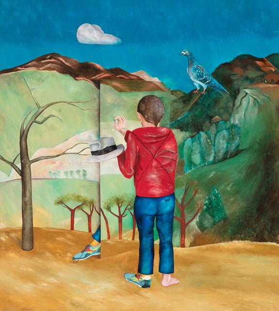 , 'peintre du dimanche peintre de dimanche,' 1985, Stevenson