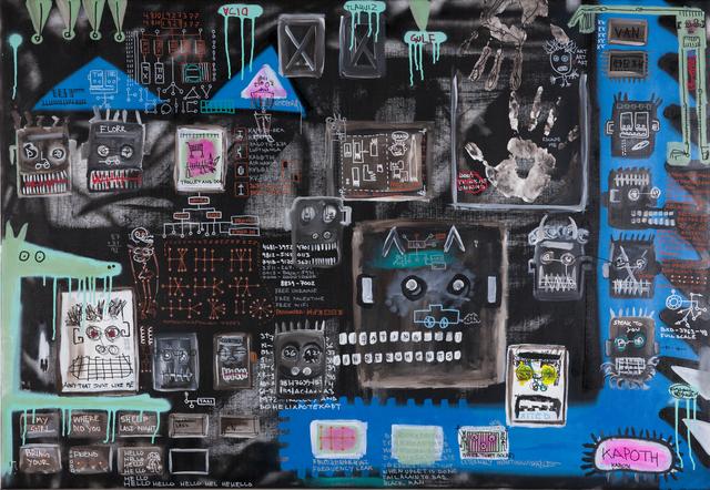 , 'Homeomorphic,' 2016, Galleri Duerr