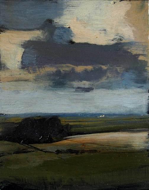 , 'Across Ballyglass landscape III,' 2017, Mall Galleries