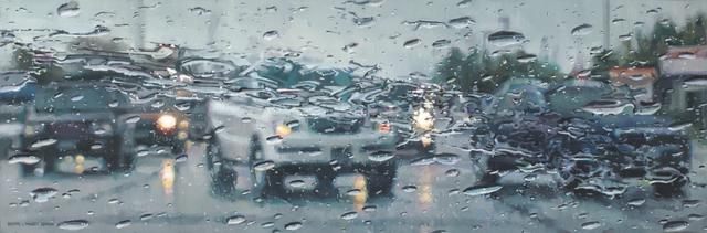, 'Rain on Windshield: Left Turn,' 2018, Gallery 1261