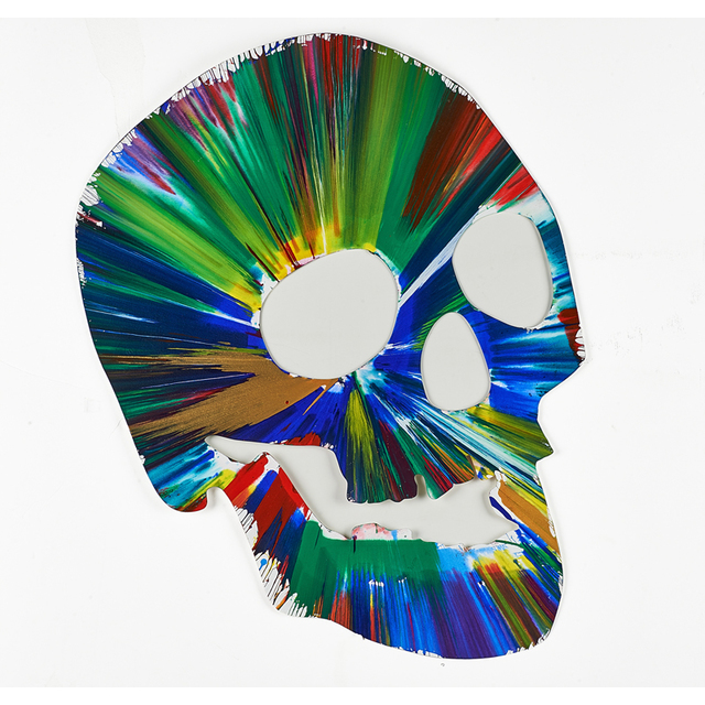 Damien Hirst, 'Skull Spin Painting (Created at  Damien Hirst Spin Workshop)', 2009, Rago/Wright