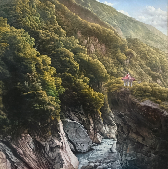 , 'The Cimu Pavillion, Taroko,' 2018, Yuan Ru Gallery