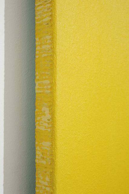 , 'Detail - Megalith (yellow),' 2011-2013, Charles Nodrum Gallery