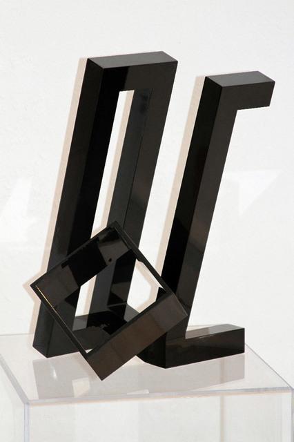 , 'Black Cube,' 2010, SPONDER GALLERY