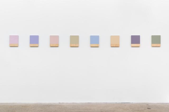 , '484 – la couleur des lieux, Lisbonne,' 2018, Galerie Nicolas Robert