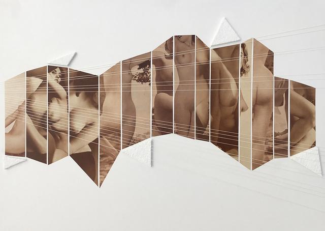 , 'Collage 22,' 2016, Galerie Les filles du calvaire
