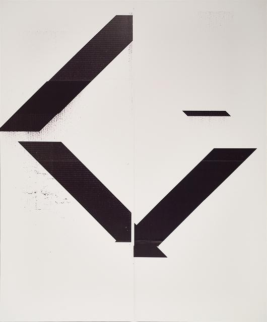 Wade Guyton, 'X Poster (Untitled, 2007, Epson UltraChrome inkjet on linen, 84 x 69 inches, WG1999)', 2017, Rago