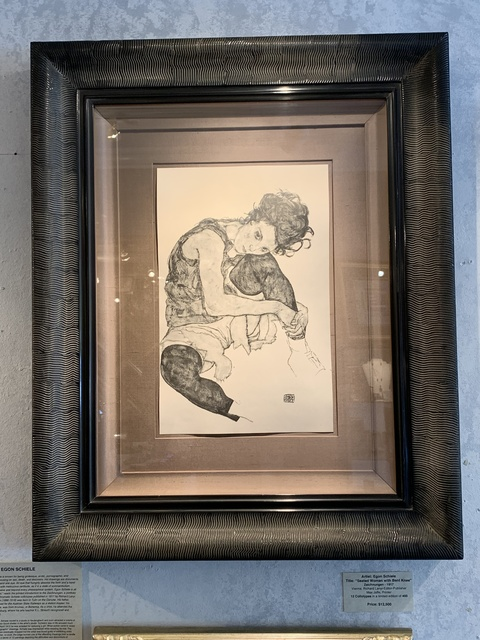 Egon Schiele, 'Seated Woman with Bent Knee', 1917, Acquisitions Of Fine Art