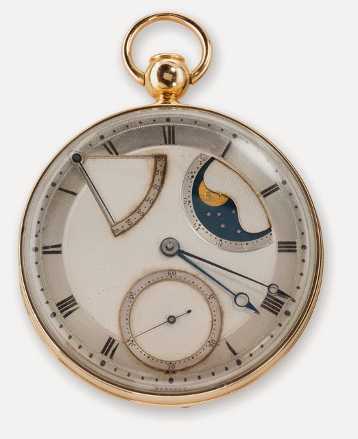 , 'Automatic (perpétuelle) quarter repeating watch with dumb (à toc) repeater,' 1794, Legion of Honor