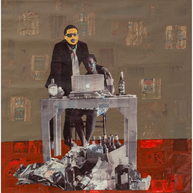 Collin Sekajugo, 'Red carpet, direty walls', 2019, PIASA