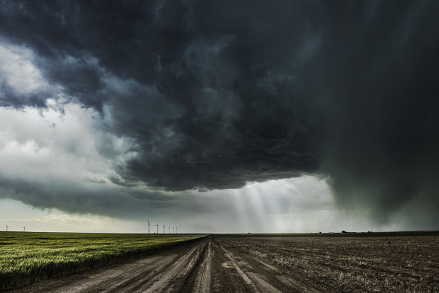 , 'Road with Supercell, Kansas,' 2014, Bernarducci Gallery Chelsea