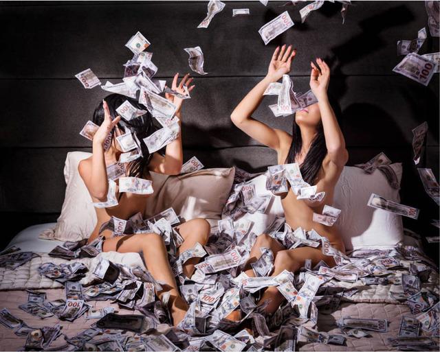 David Drebin, 'Money Shot ', 2018, Photography, Digital C Print, Contessa Gallery