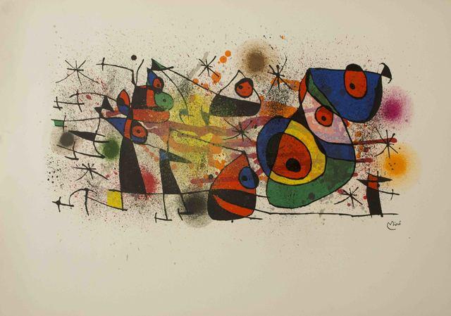 Joan Miró, 'Ceramiques, from Ceramiques de Miro et Artigas (M. 928)', 1976, The Munn Collection