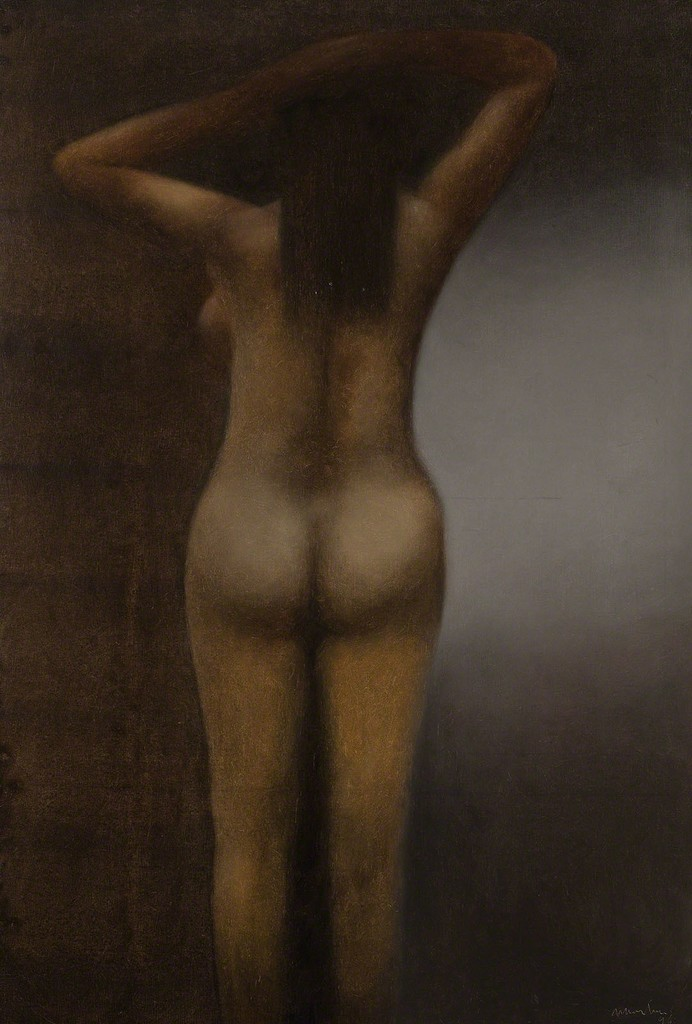 Nudes (Desnudos), 1996. Oil on canvas