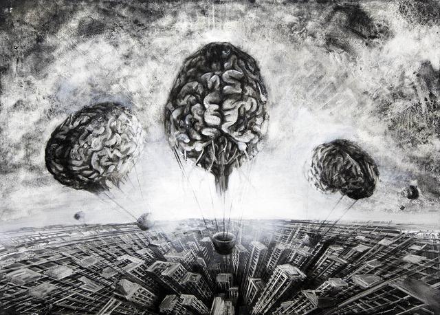 , 'Cervelli in fuga,' 2013, Fabbrica Eos
