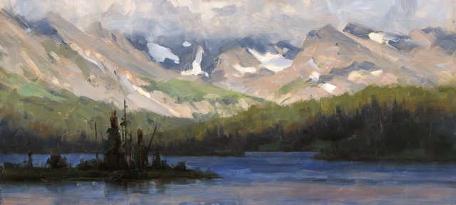 , 'Long Lake, Study,' 2015, Abend Gallery