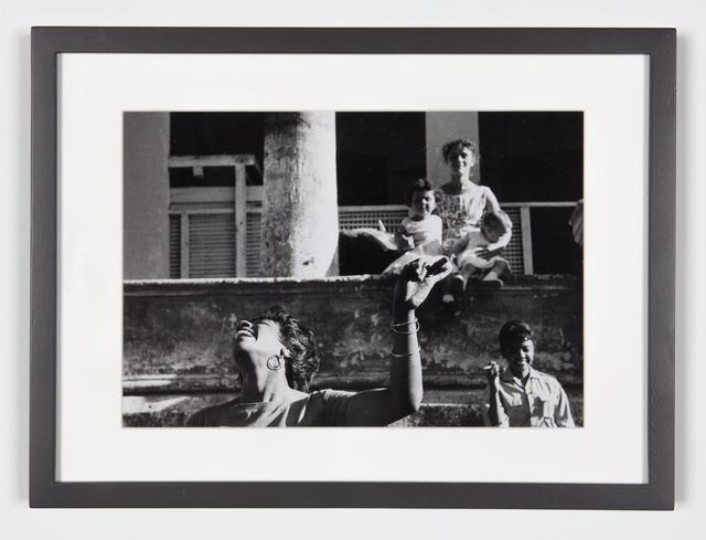 , 'Cha-Cha-Cha danced by members of the I.C.A.I.C. - Film student, Sarita Gomez, woman and children (Cuba series),' 1962-1963, Galerie Nathalie Obadia