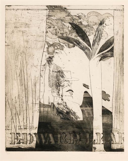 David Hockney, ''Edward Lear'', 1964, Mr & Mrs Clark's