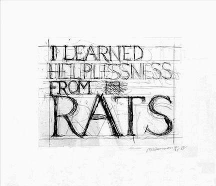 , 'Learned Helplessness from Rats,' 1988, Gallery Sofie Van de Velde