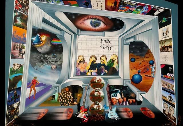 , 'Pink Floyd,' 2018, Best Art Gallery