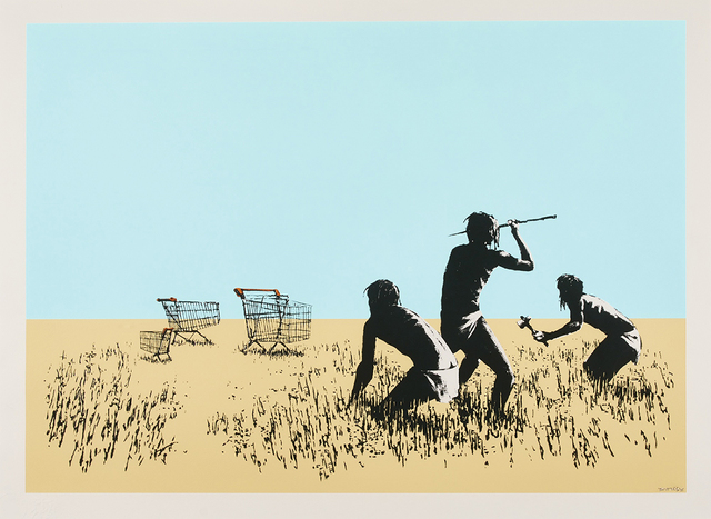 Banksy, 'Trolley Hunters', 2007, The Garage Amsterdam