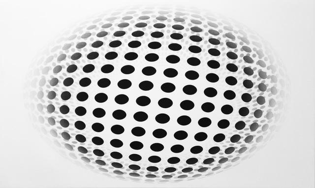 , 'Dot Sphere Oval White,' 2016, Galerie Richard