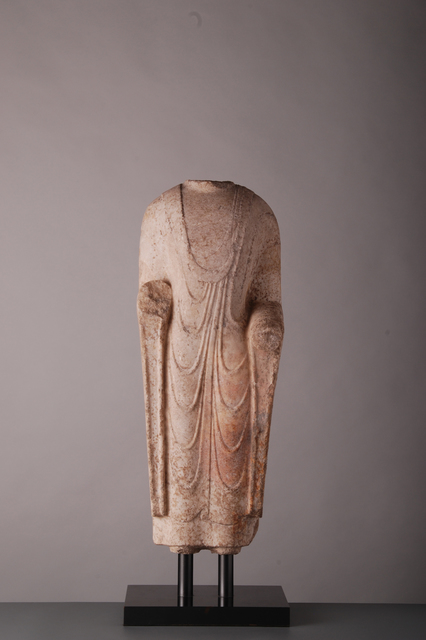 , 'White Marble Torso,' Northern Qi period (549-577), Vanderven Oriental Art