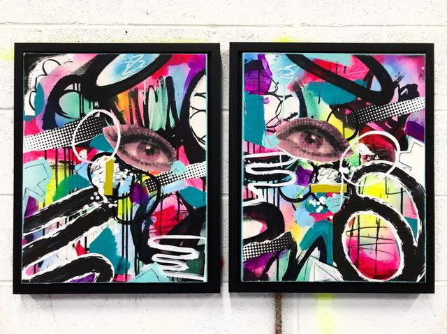 Solczy, 'BLUE DIPTYCH', 2019, Marcel Katz Art