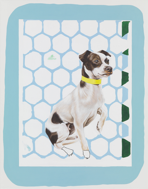 , 'White Dog with Brown Spots,' 2014, Meliksetian   Briggs