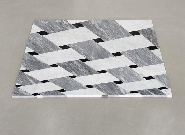 , 'Grey Rock Woven,' 2015, Kadel Willborn