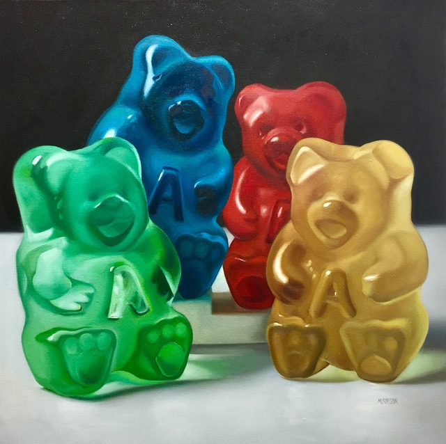 Margaret Morrison, 'Family of Four Gummy Bears', 2018, Woodward Gallery