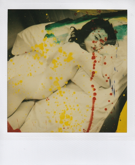 Nobuyoshi Araki, 'Polaroid from Overpainted Work', 2006, Photography, Polaroid, Galleria 13