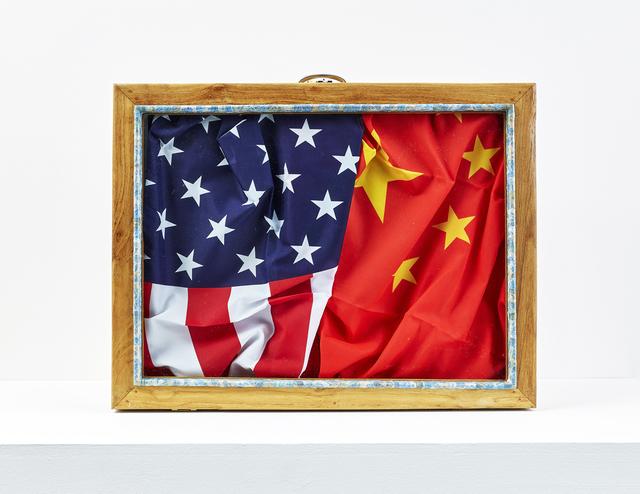 , 'Valise diplomatique (Chine-Amérique),' 2017, In Situ - Fabienne Leclerc