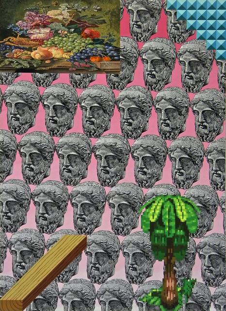 , 'Donkey Kong County,' 2015, Celaya Brothers Gallery