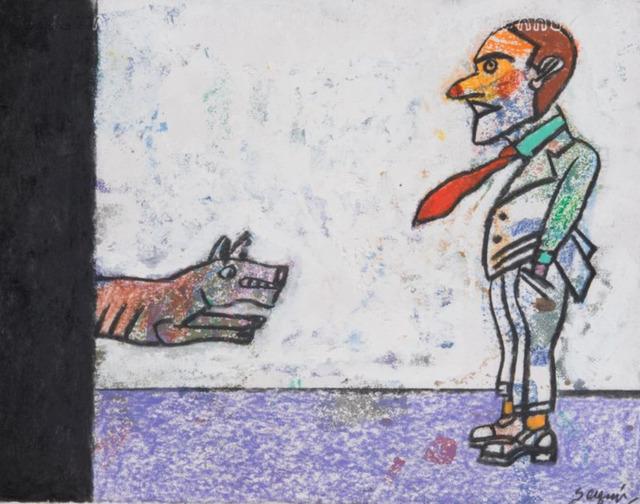 Antonio Seguí, ' Perro Furioso', 2017, Nil Gallery