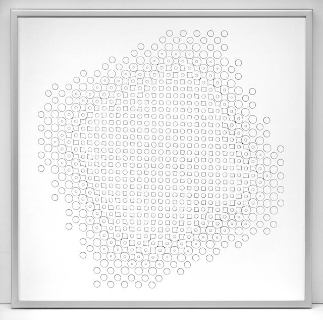 , 'Pinhole Structures 3.8.14 D 7, 1.3,' 1973, SCHEUBLEIN + BAK