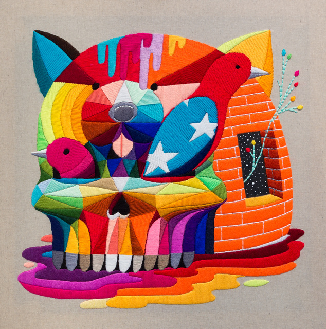 Okuda San Miguel, 'Skull Igloo', 2016, Underdogs Gallery