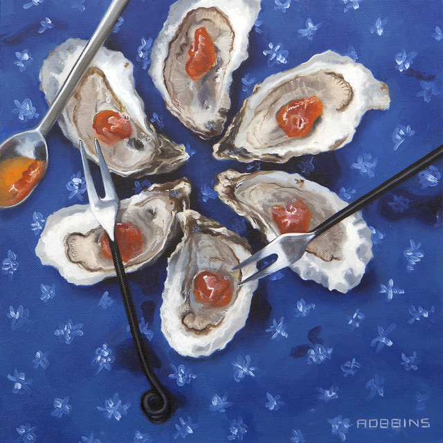 , 'Oyster Flower,' , Sirona Fine Art