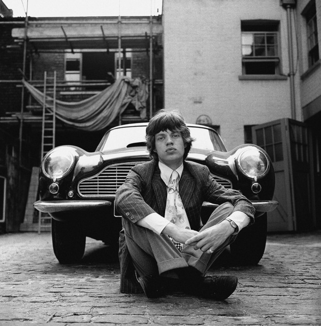 , 'The Rolling Stones - Mick Jagger with Aston Martin DB6,' 1966, Snap Galleries