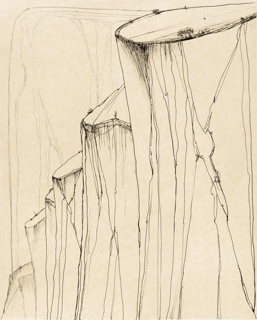 , 'Canyon Mountains,' 2014, Crown Point Press