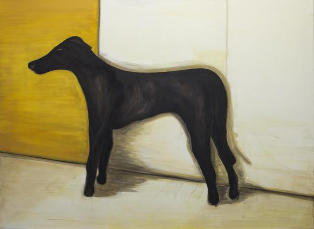, 'Dog (black, standing),' 2016, Galerie Bart