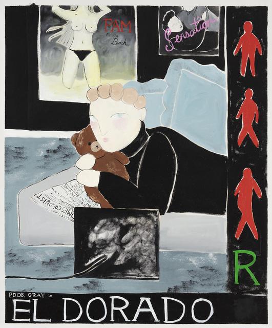 , 'Black Eldorado,' 2018, Steve Turner