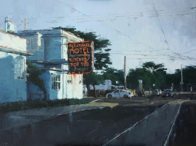 , 'Ocean Park Motel,' , Maybaum Gallery